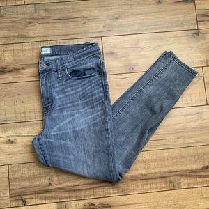 Madewell Skinny High Riser Gray Jeans